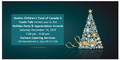 Holiday Party & Appreciation Awards Ceremony
