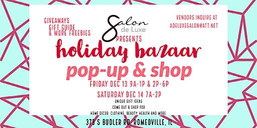 Holiday Bazaar Pop Up & Shop