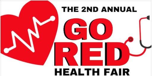 """Go Red"" Fact/Fashion Runway and Health Fair"