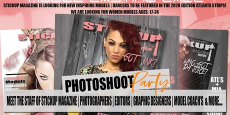 StickUp Magazine Model Casting Call tickets