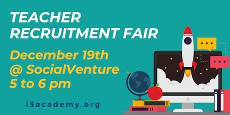 i3 Academy Teacher Recruitment Fair tickets