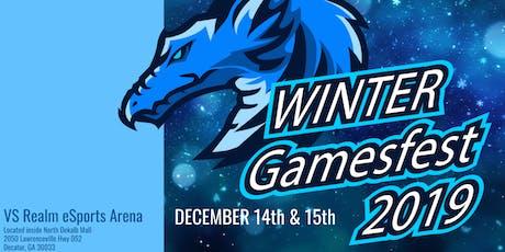 Winter Gamesfest 2019 tickets