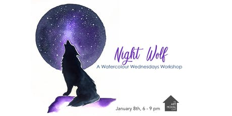 Night Wolf - Watercolour Workshop tickets
