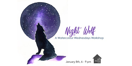 Night Wolf - Watercolour Workshop