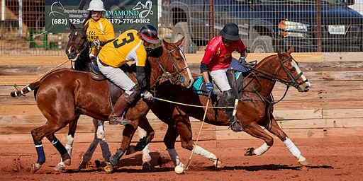 Hockey On Horseback - West Texas