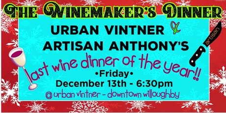 The Winemaker's  Dinner tickets