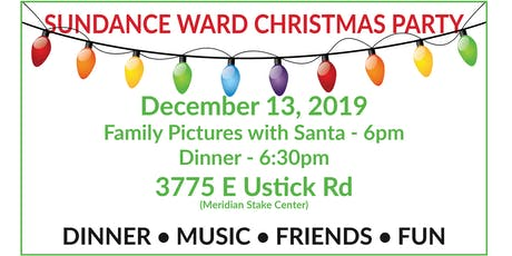 Sundance Ward Christmas Party 2019 tickets