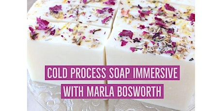MASTERCLASS: DESIGN YOUR OWN COLD PROCESS SOAP (2020-01-29 starts at 6:00 PM) tickets