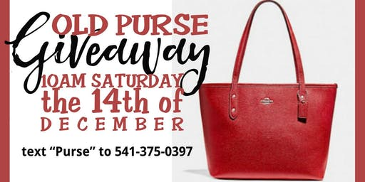 Journey Ladies - Old Purse Giveaway