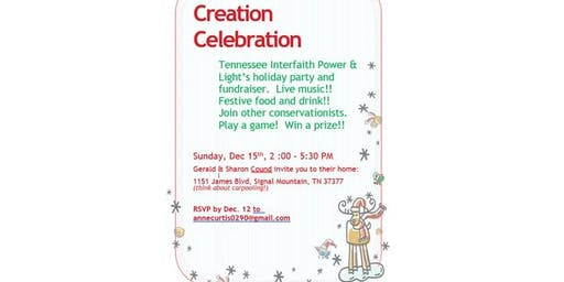 Creation Celebration TiPL  and Donations