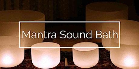 Mantra Sound Bath tickets