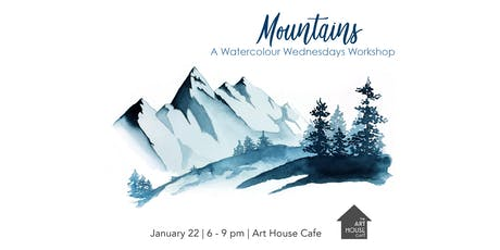 Mountains - Watercolour Workshop tickets
