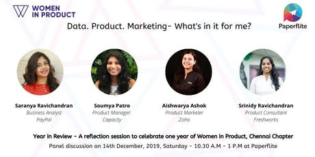 Women in Product - Year in review tickets