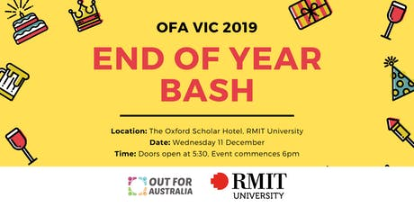 OFA VIC 2019 End of Year Bash tickets