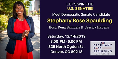 Let's Win the U.S. Senate with Stephany Rose Spaulding tickets