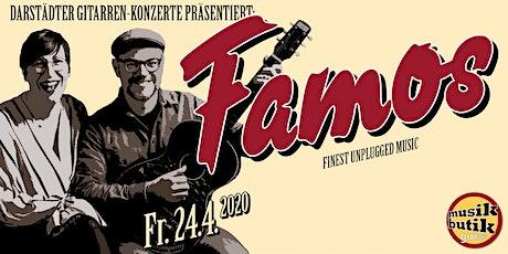 famos. - finest unplugged music - Darstädter Gitarren-Konzerte Tickets
