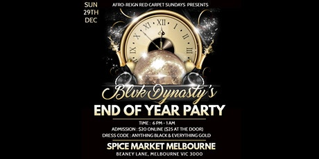 END OF YEAR PARTY tickets