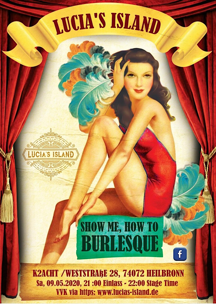 Lucia's Island : Show Me How To Burlesque: Bild