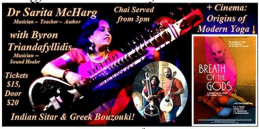 Sounds of the Gods Concert blends Indian Sitar with Greek Bouzouki