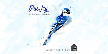 [SOLD OUT] Blue Jay - Watercolour Workshop tickets