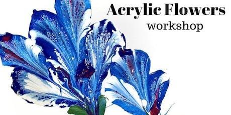 Acrylic Flower Workshop tickets