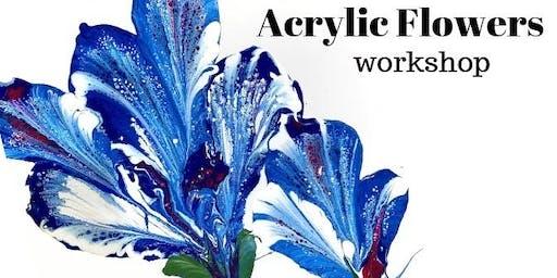 Acrylic Flower Workshop