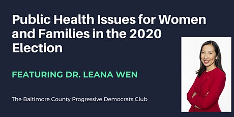 Public Health Issues for Women and Families in the 2020 Election tickets