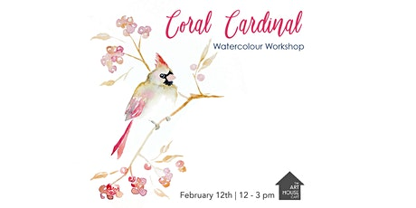 [SOLD OUT] Coral Cardinal - Watercolour Workshop tickets