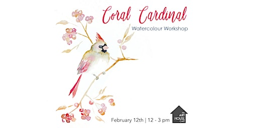 [SOLD OUT] Coral Cardinal - Watercolour Workshop