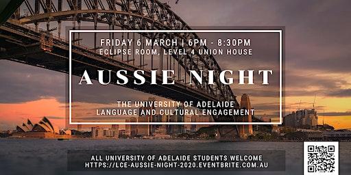 LCE Aussie Night