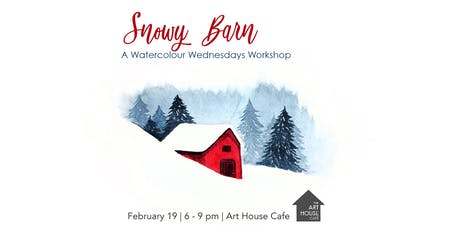 Snowy Barn - Watercolour Workshop tickets