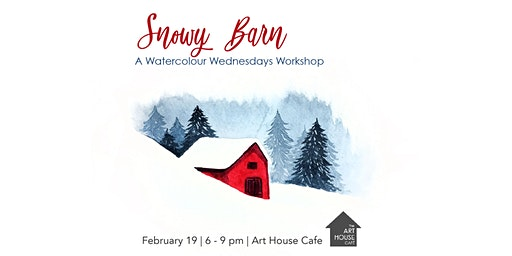 [SOLD OUT] Snowy Barn - Watercolour Workshop