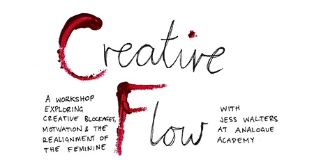 Creative Flow - A Jessica Walters Workshop tickets