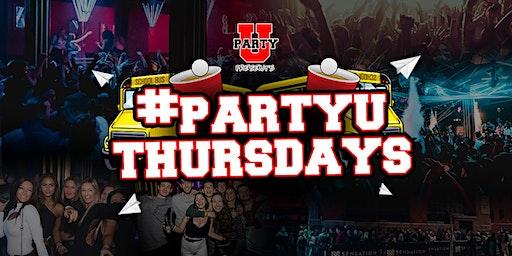 PartyU Thursdays - 18+ College Party - 12.06.19