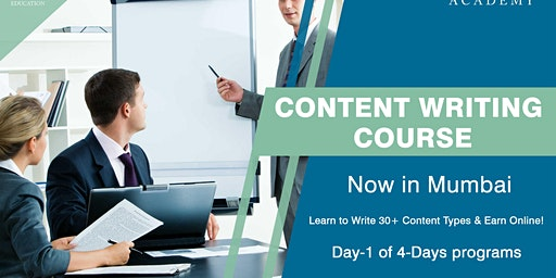 Day 1 Content Writing Course in Mumbai