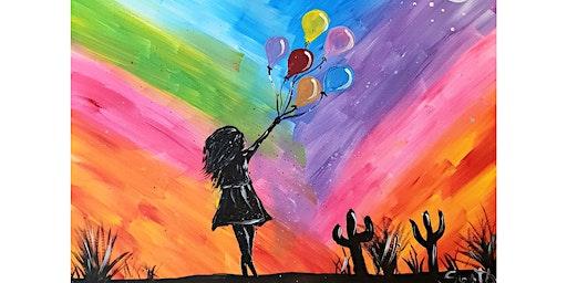 Balloon Girl - Clock Hotel