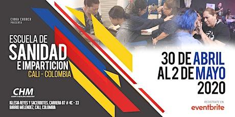 Escuela de Sanidad e Impartición CALI, COLOMBIA entradas