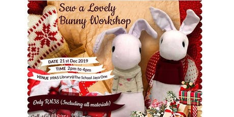 Sew A Lovely Bunny Craft Workshop tickets