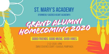 St. Mary's Academy formerly Sacred Heart Academy Homecoming 2020 tickets
