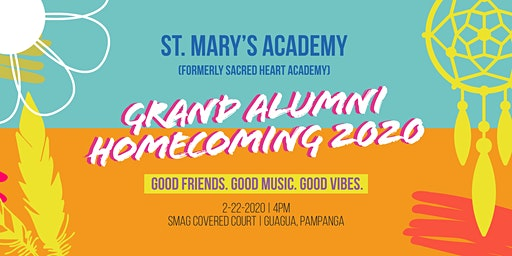 St. Mary's Academy formerly Sacred Heart Academy Homecoming 2020