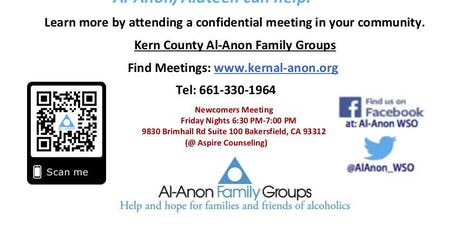 Paths To Recovery (Al-Anon Family Groups) tickets
