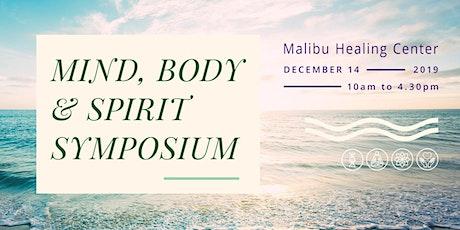 Mind, Body and Spirit Symposium tickets