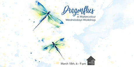 [SOLD OUT] Dragonflies - Watercolour Workshop tickets