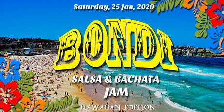 Bondi Salsa & Bachata Jam - Hawaiian Edition tickets