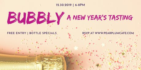 Bubbly: A Tasting for 2020 tickets