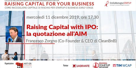Raising Capital for your Business Chap Vi: Raising Capital with IPO e la quotazione all'AIM biglietti