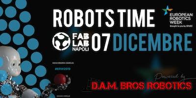 Robots time| European Robotics Week 2019