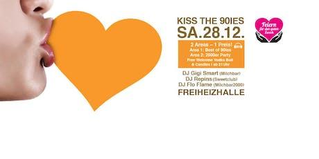 Kiss the 90ies - Münchens größte 90er Party Im Dezember! Tickets