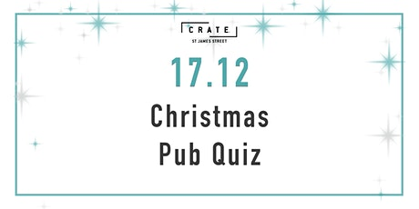 12 days of CRATEMAS - Day 5 The Untraditional Christmas Pub Quiz tickets