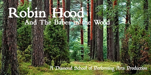 Robin Hood and the Babes In The Wood. A Diamond pantomime. Santa surprise!